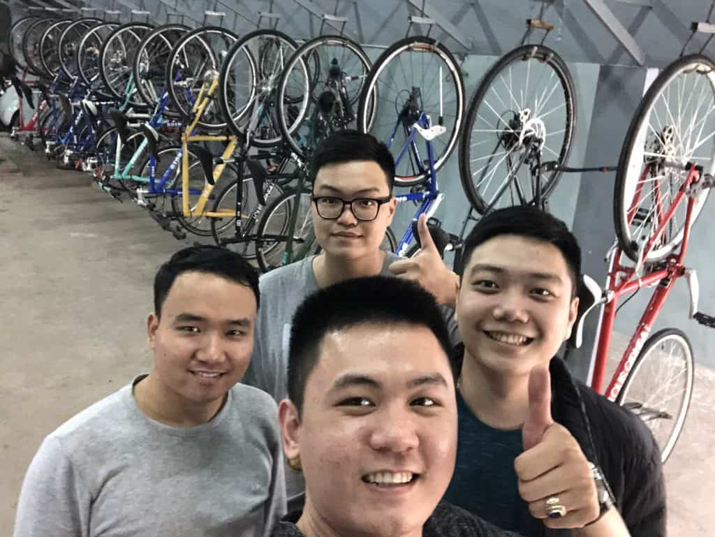 Doi ngu Luot Bike