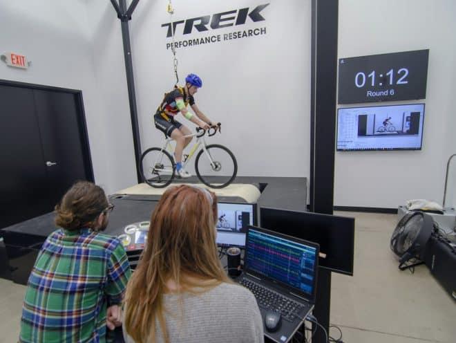 Phòng phát triển sản phẩm mới của hãng xe Trek (Mỹ)